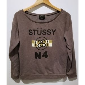 STUSSY N4 Pullover Sweater
